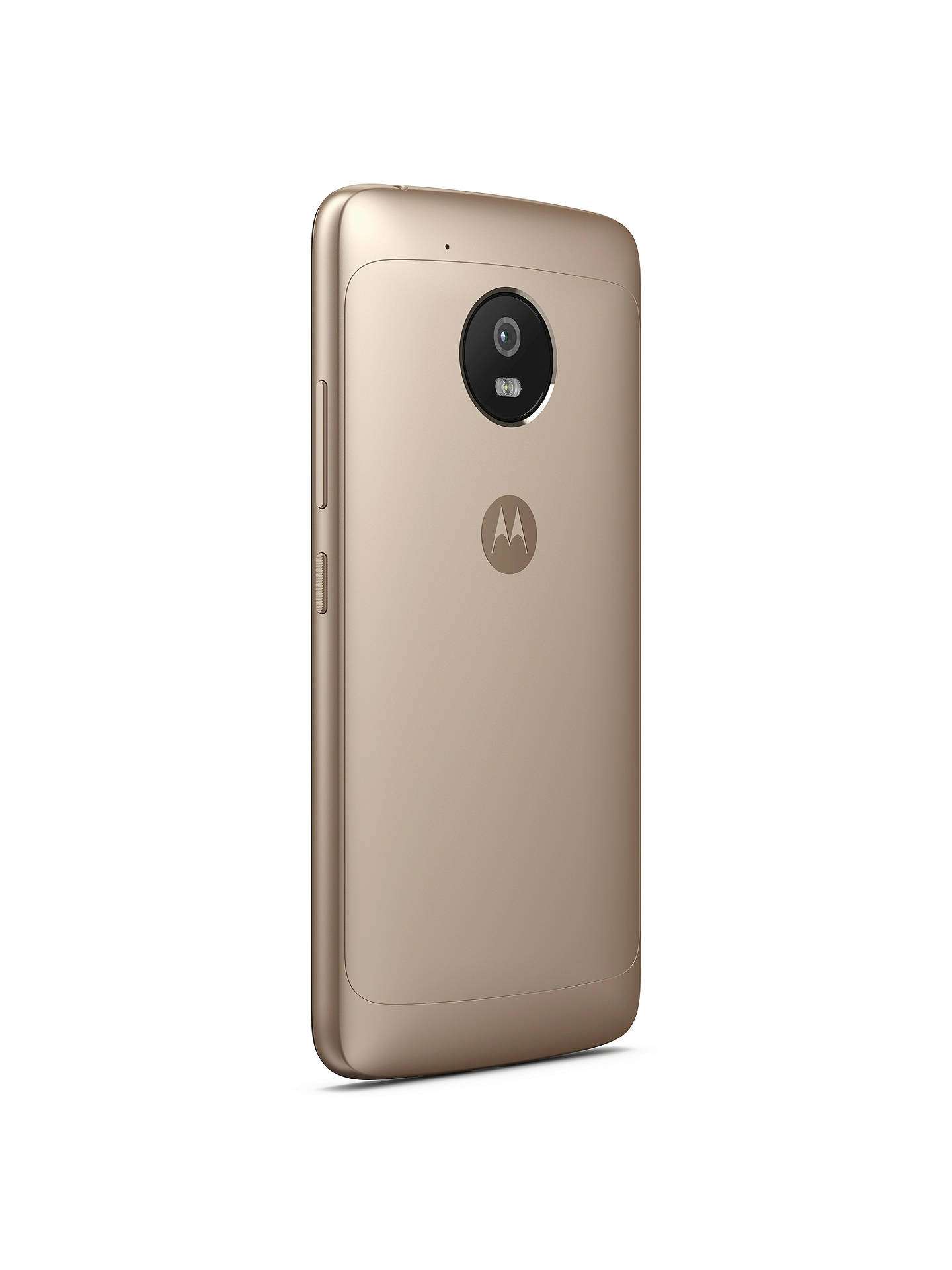 "Buy Motorola g5 Smartphone, Android, 5"", 4G LTE, SIM Free, 16GB, Gold Online at johnlewis.com"