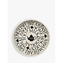 Buy Emma Bridgewater Black Toast Round Tray Online at johnlewis.com