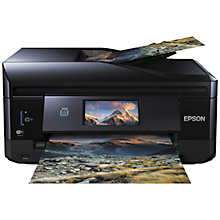 Buy Epson Expression Premium XP-830 All-in-One Wireless Printer, Black Online at johnlewis.com