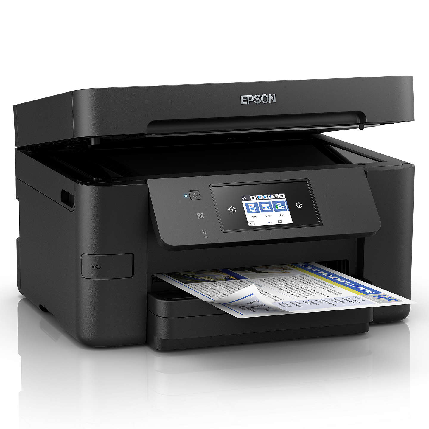 BuyEpson WorkForce WF-3720 All-In-One Wireless Printer, Black Online at johnlewis.com