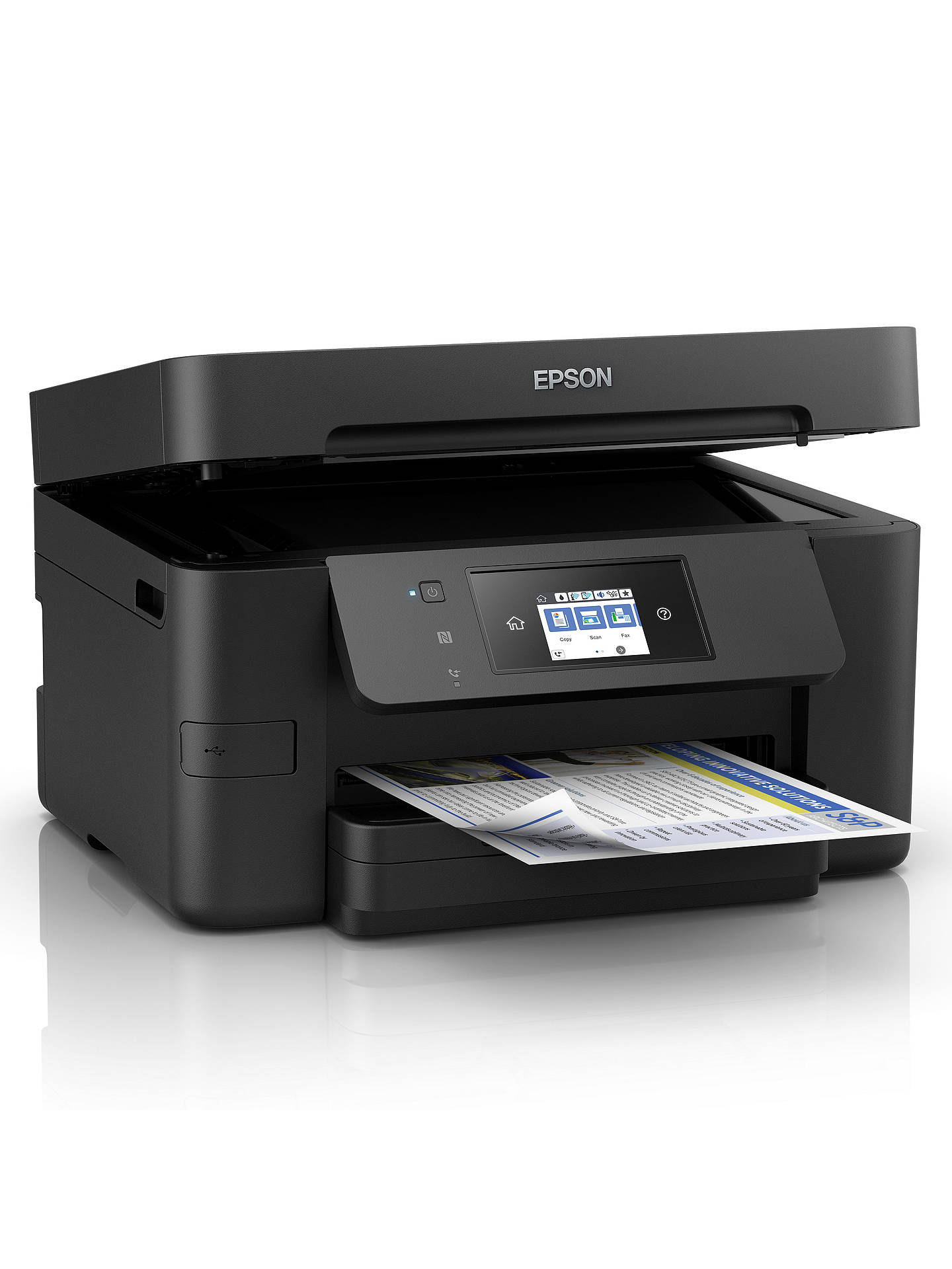 Epson Workforce Wf 3720 All In One Wireless Printer Black