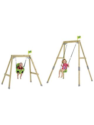 TP Toys Acorn Small to Tall Swing Set
