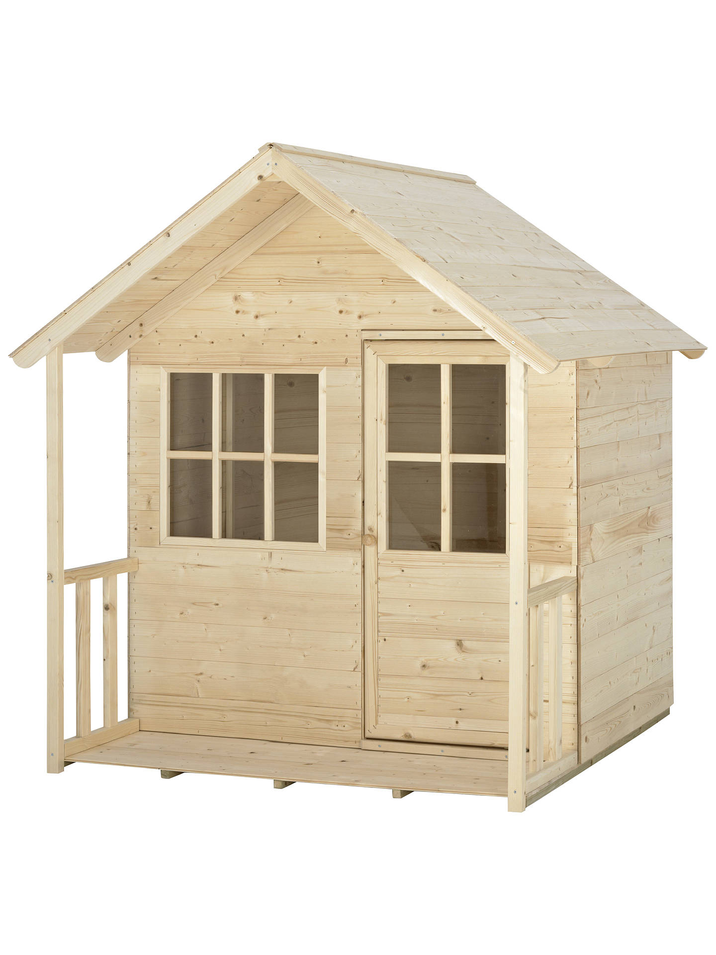 Tp Toys Forest Cabin Playhouse At John Lewis Partners