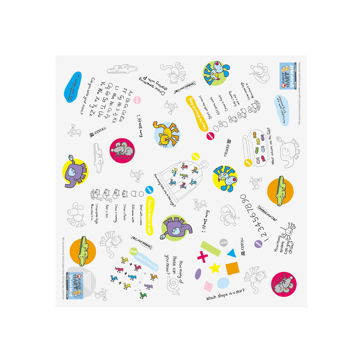 BuyMicador Early stART Splash Mat Online at johnlewis.com