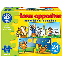 Buy Orchard Toys Farm Opposites Puzzles Online at johnlewis.com
