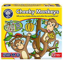 Buy Orchard Toys Cheeky Monkey Game Online at johnlewis.com