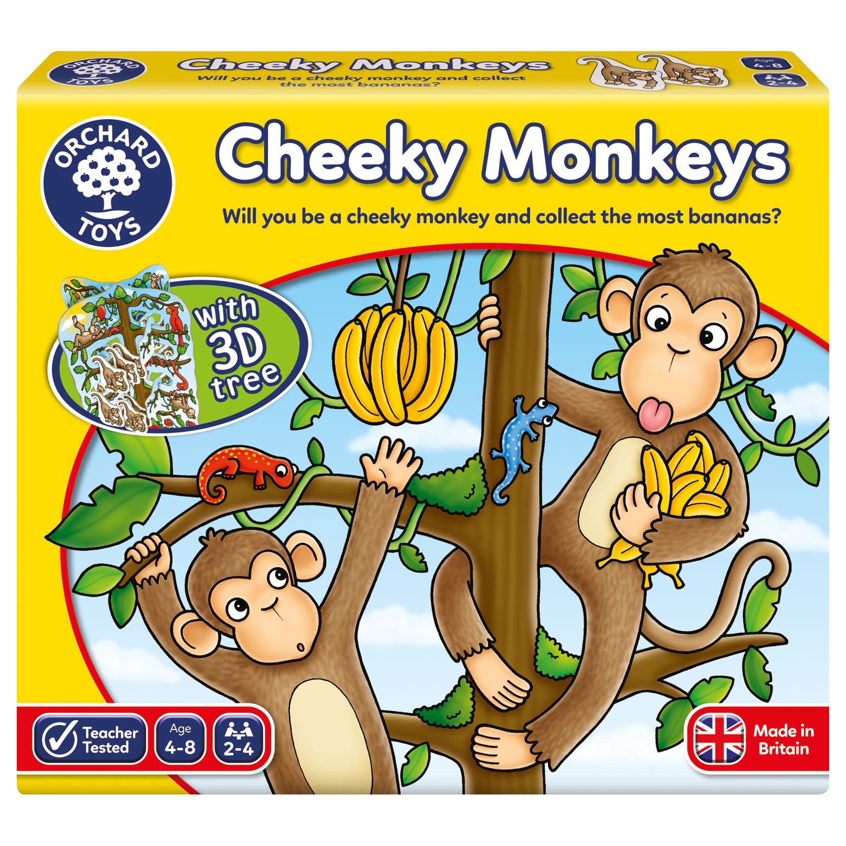 Orchard Toys Orchard Toys Cheeky Monkey Game