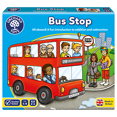 Image of Orchard Toys Bus Stop Game