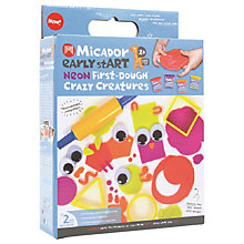 Buy Micador Early stART Neon First-Dough Crazy Creatures Set Online at johnlewis.com