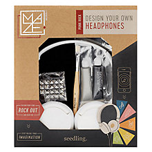 Buy Seedling Design Your Own Street Art Headphones Online at johnlewis.com