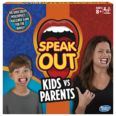 Image of Hasbro Speak Out Kids Vs Parents Game From Hasbro Gaming