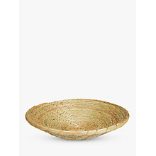 Buy Gone Rural Large Reed Basket, Natural, Dia.40cm Online at johnlewis.com
