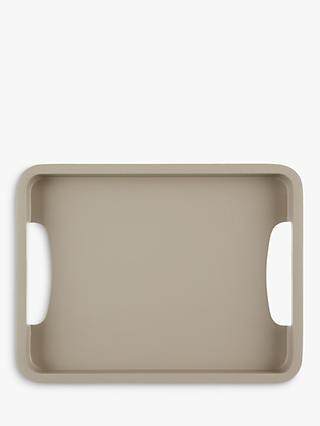 John Lewis & Partners Scandi Small Painted Wood Tray
