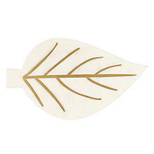 Buy John Lewis Leaf Shaped Marble Serving Board Online at johnlewis.com