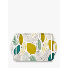 Buy John Lewis Melamine Leaves Tray, Large Online at johnlewis.com
