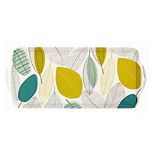 Buy John Lewis Leaves Sandwich Tray, Multi, L38cm Online at johnlewis.com