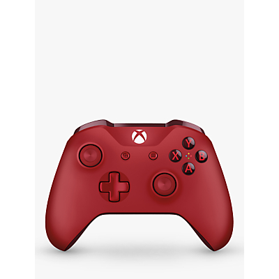 Image of Microsoft Xbox One S Wireless Controller, Red