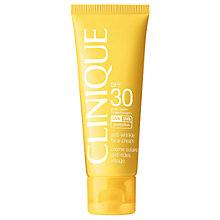 Buy Clinique Anti-Wrinkle Facial Sun Cream SPF 30, 50ml Online at johnlewis.com