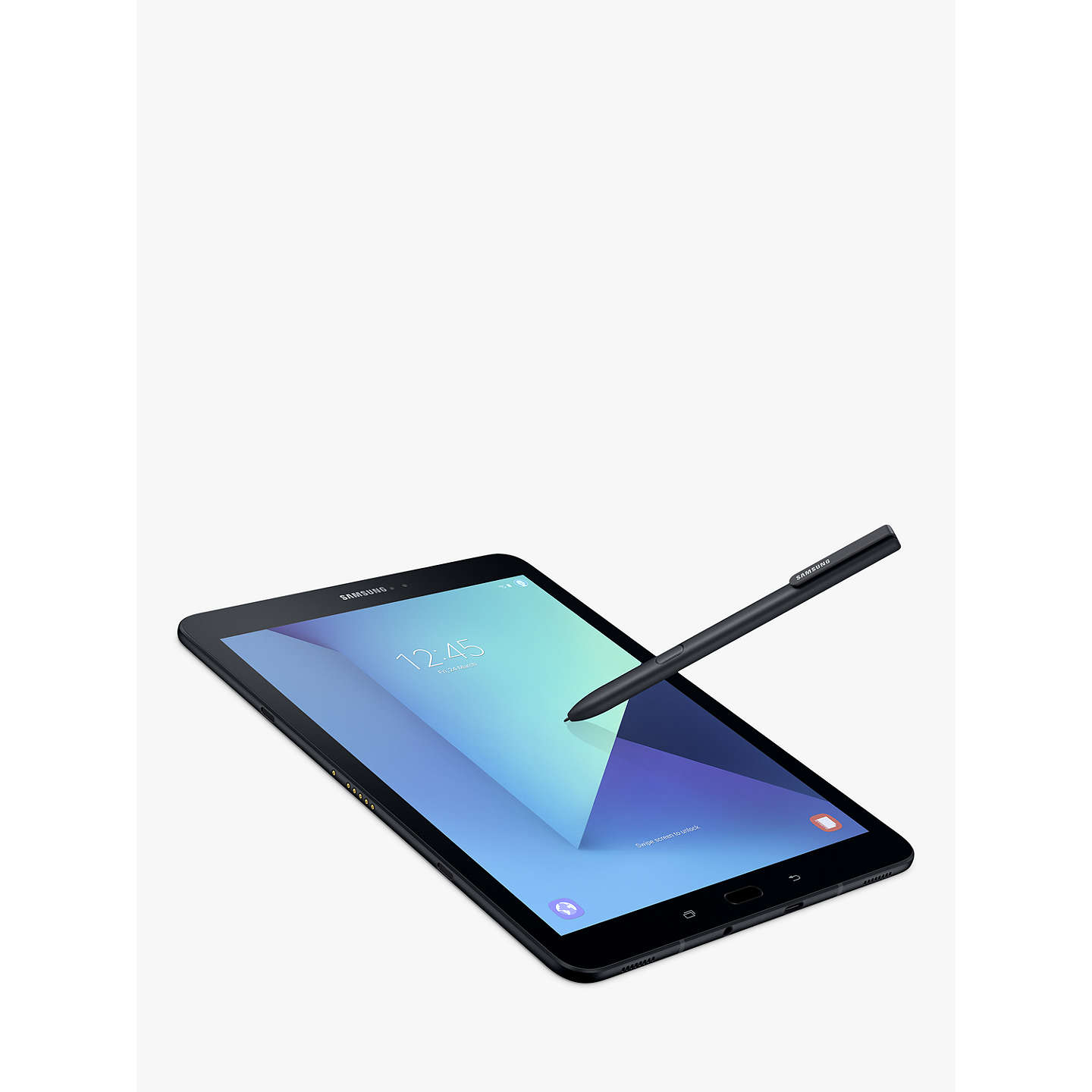 "BuySamsung Galaxy Tab S3 Tablet with S Pen, Android, 32GB, 4GB RAM, Wi-Fi, 9.7"", Black Online at johnlewis.com"