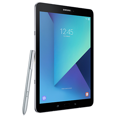 Samsung Galaxy Tab S3 Tablet with S Pen, Android, 32GB, 4GB RAM, Wi-Fi, 9.7, Silver