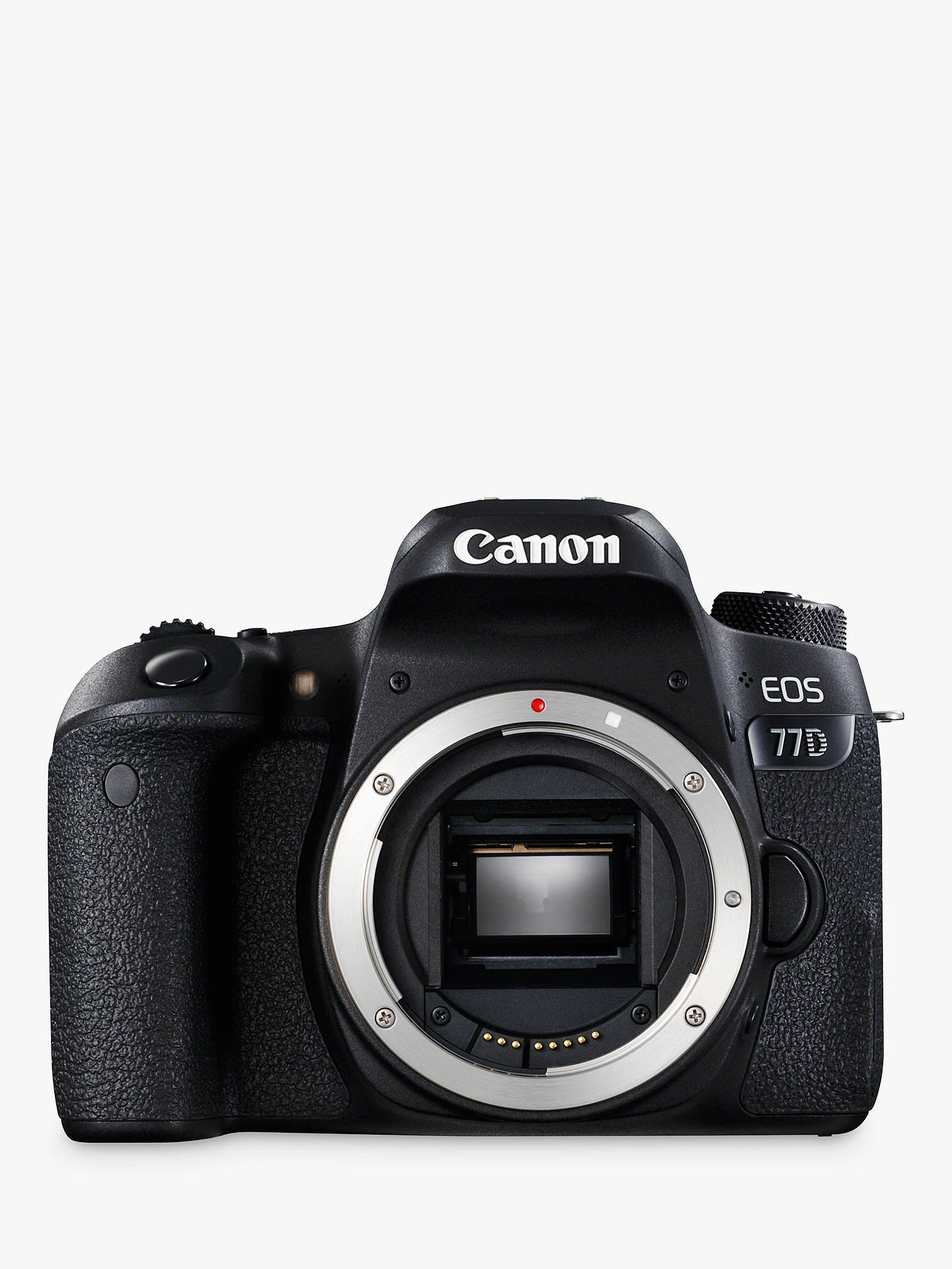 Canon EOS 77D Digital SLR Camera, HD 1080p, 24 2MP, Wi-Fi, Bluetooth, NFC,  Optical Viewfinder, 3