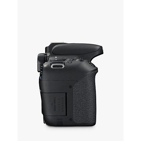 "Buy Canon EOS 77D Digital SLR Camera, HD 1080p, 24.2MP, Wi-Fi, Bluetooth, NFC, Optical Viewfinder, 3"" Vari-Angle Touch Screen, Body Only Online at johnlewis.com"