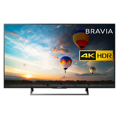 Sony Bravia KD43XE8005 LED HDR 4K Ultra HD Smart Android TV, 43 with Freeview HD & Youview, Black