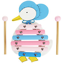 Buy Orange Tree Jemima Puddle Duck Xylophone Wooden Toy Online at johnlewis.com