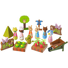 Buy Orange Tree Peter Rabbit Wooden Play Set Online at johnlewis.com