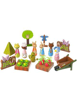 Orange Tree Peter Rabbit Wooden Play Set