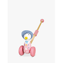 Buy Orange Tree Jemima Puddle Duck Push Along Wooden Toy Online at johnlewis.com