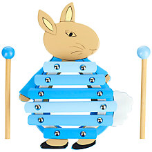 Buy Orange Tree Peter Rabbit Xylophone Wooden Toy Online at johnlewis.com