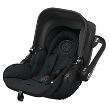 Buy Kiddy Evo Luna Isize Car Seat, Onyx Black Online at johnlewis.com