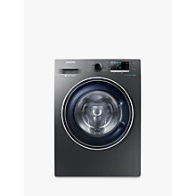 Buy Samsung WW80J5456FX/EU ecobubble™  Freestanding Washing Machine, 8kg Load, A+++ Energy Rating, 1400rpm Spin, Graphite Online at johnlewis.com