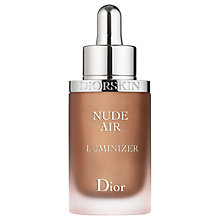 Buy Dior Diorskin Nude Air Luminiser Serum Online at johnlewis.com