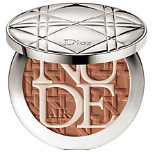 Buy Dior Diorskin Nude Air Compact Glow Powder, 003 Bronze Tan Online at johnlewis.com