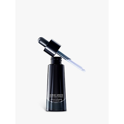 Buy Giorgio Armani Crema Nera Volume Reshaping Eye Serum, 15ml Online at johnlewis.com