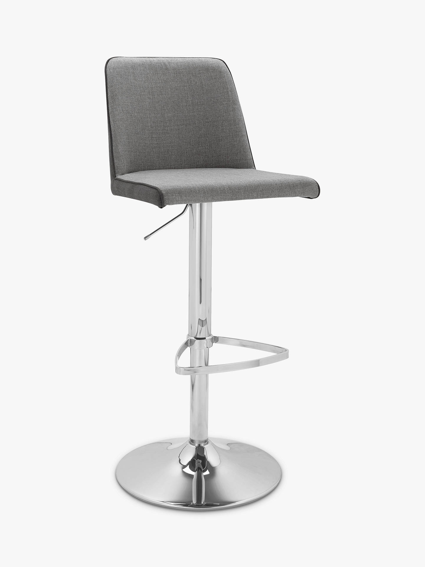 BuyHouse by John Lewis Anderson Bar Chair, Grey Online at johnlewis.com