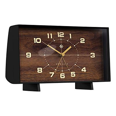 Newgate The Wideboy Mantel Clock, Black