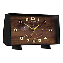Buy Newgate The Wideboy Mantle Clock, Black Online at johnlewis.com