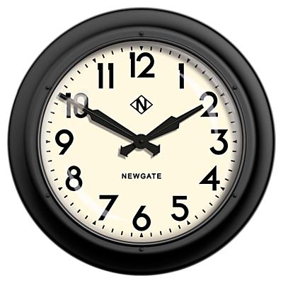 Newgate Giant Electric Wall Clock, Dia.60cm, Matte Black
