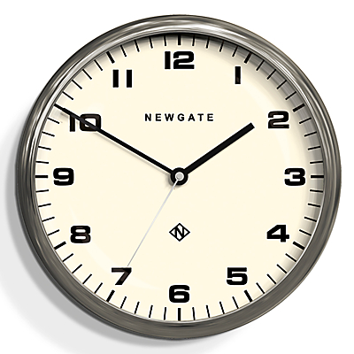 Newgate The Crysler Wall Clock, Dia.40cm, Chrome