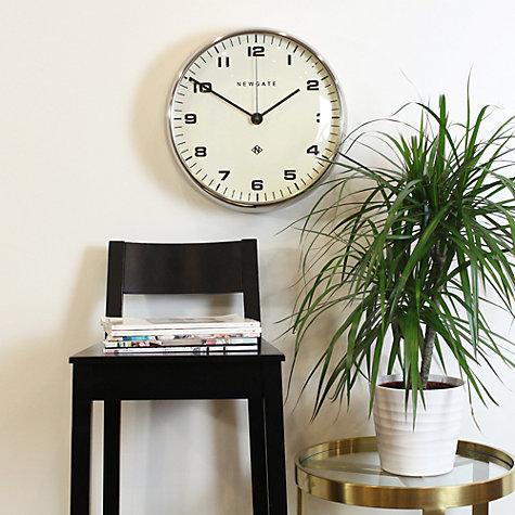 Buy Newgate The Crysler Wall Clock Dia40cm Chrome Online At Johnlewis