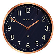 Buy Newgate Master Edwards Wall Clock, Dia.30cm, Radial Copper Online at johnlewis.com