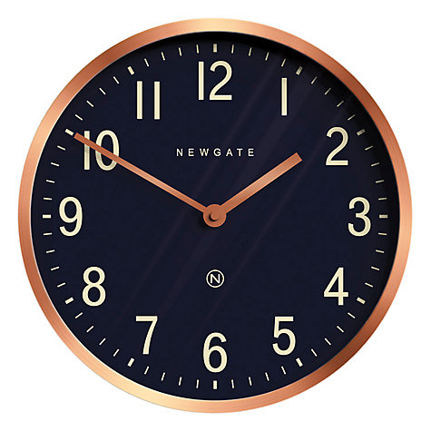 Buy Newgate Master Edwards Wall Clock Dia30cm Radial Copper Online At Johnlewis