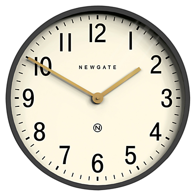 Newgate Mr Edwards Wall Clock, Dia.45cm, Moonstone Grey