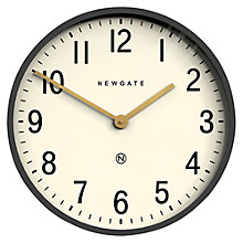 Buy Newgate Mr Edwards Wall Clock, Dia.45cm, Moonstone Grey Online at johnlewis.com
