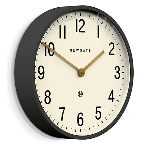 Buy Newgate Mr Edwards Wall Clock Dia45cm Moonstone Grey Online At Johnlewis
