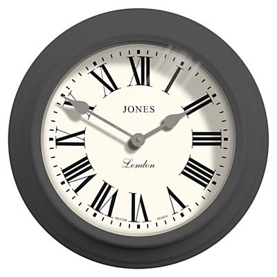 Jones The Film Wall Clock, Dia.30cm, Grey