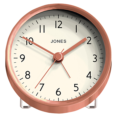 Jones The Tibbet Alarm Clock, Dia.9cm